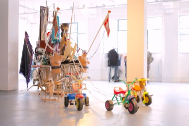 the Black Pearl 2009, KUNSTENLAB, solo exhibition, Enschede, 2012