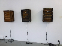 Peep boxes @ galerie Frank Taal, Rotterdam, altreadymade, solo exhibition