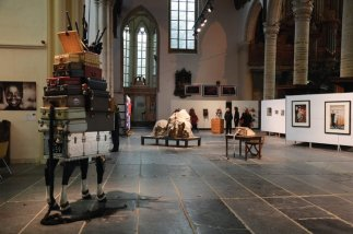 ART in REDLIGHT, Art Fair 8, Oude Kerk Amsterdam, represented by Galerie Frank Taal, Amsterdam, 2012